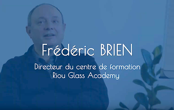 Interview Frédéric Brien, Directeur de Riou Glass Academy