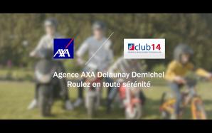Publicité AXA sur l'assurance moto